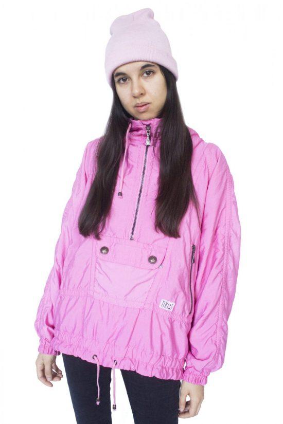 Vintage 90's Pink Jacket Windbreaker - XXL