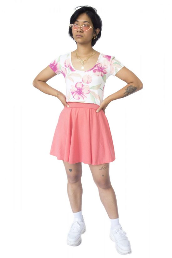 Vintage 90's Skater Skirt - S