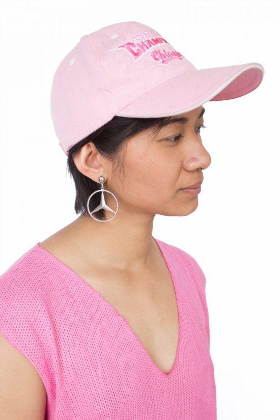 Vintage y2k Pastel Pink Cap