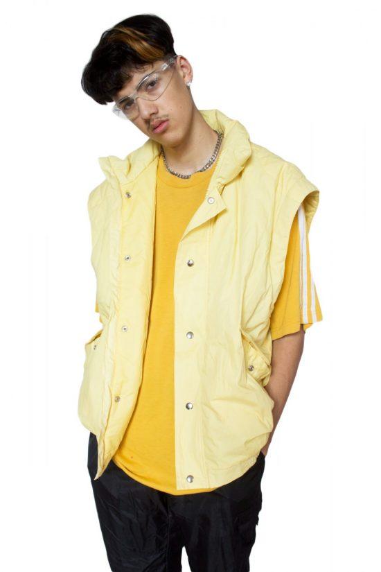 Vintage 90's Yellow Vest Jacket - XXL