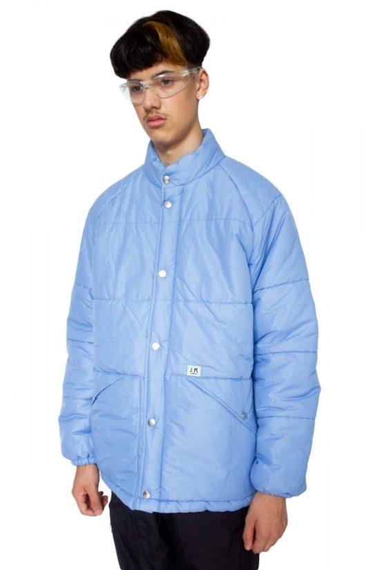 Vintage 90's Blue Puffer Jacket - L