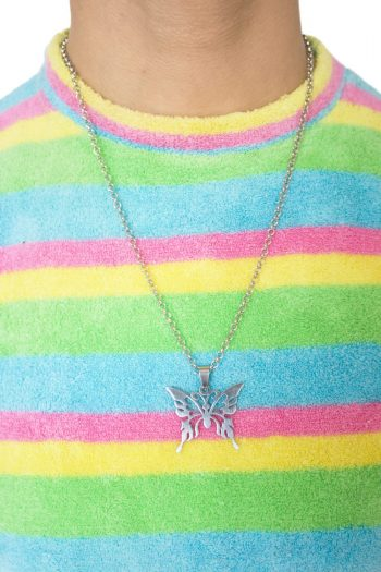 Festival Butterfly Link Chain Necklace 90s necklace