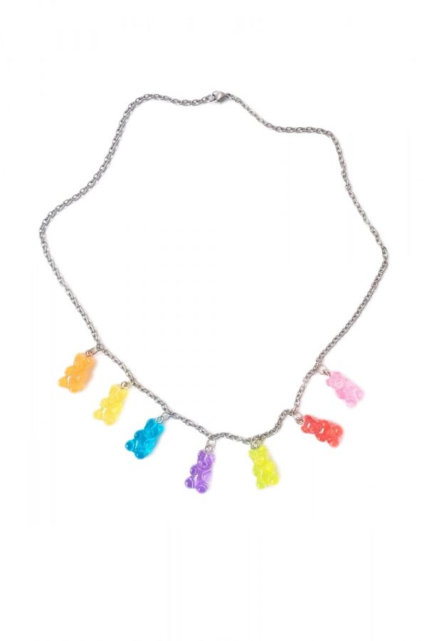 Jewelry Candy Gummy Bear Chain Necklace chain necklace