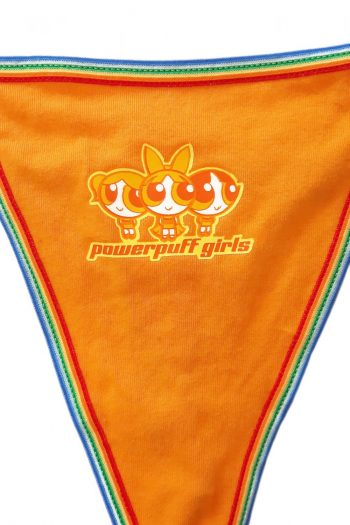 Kawaii Vintage Y2K Powerpuff Girls Thong Deadstock – M anime thong