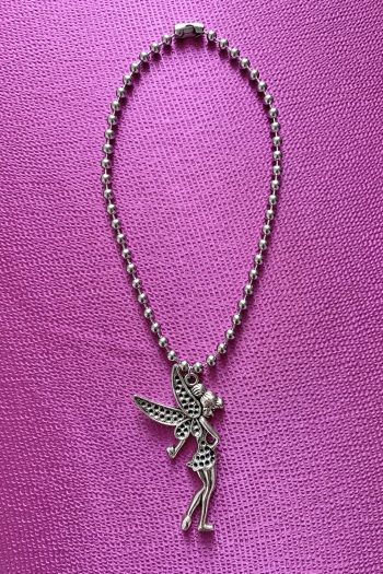 Festival Big Fairy Ball Chain Necklace 90s necklace