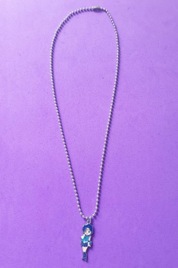 Jewelry Sailor Mercury Ball Chain Necklace anime necklace