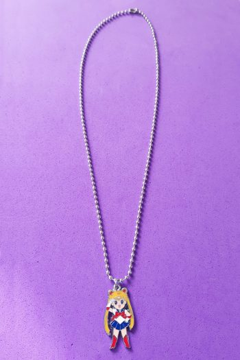 Jewelry Sailor Moon Ball Chain Necklace anime necklace