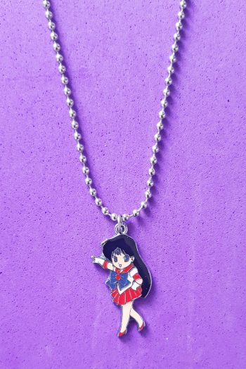 Jewelry Sailor Mars Ball Chain Necklace anime necklace