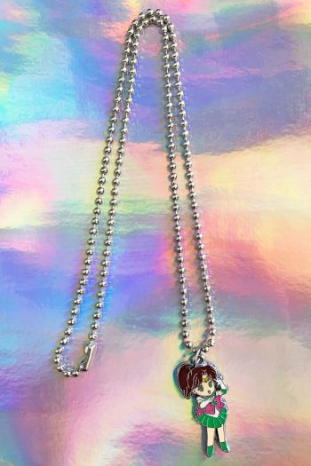 Jewelry Sailor Jupiter Ball Chain Necklace anime necklace