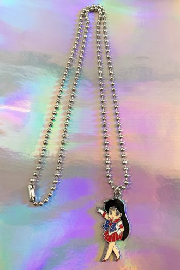 Jewelry Sailor Mars Ball Chain Necklace necklace