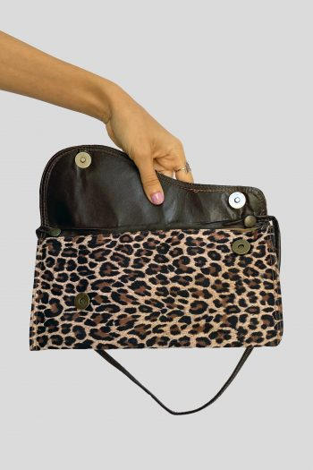 Bags Vintage Y2K Leopard Baguette Bag baguette bag