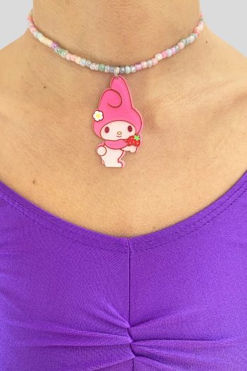 Jewelry My Melody Strawberry Rainbow Choker choker