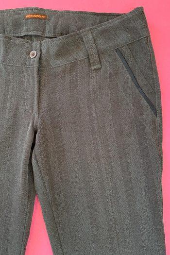 Cyber Vintage Y2K Brown Flare Pants – M/L brown pants