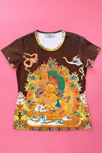 Boho Vintage Y2K Thailand Graphic Tee – M 90s tshirt