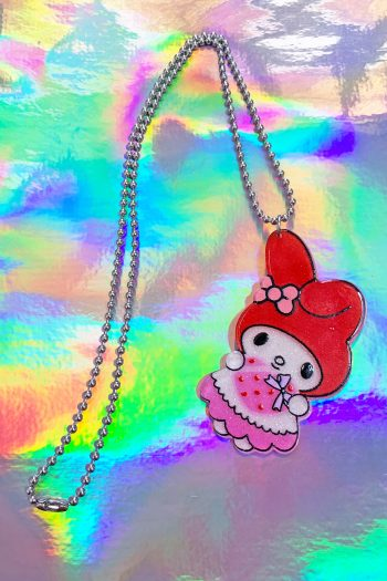 Jewelry Red My Melody Ball Chain Necklace necklace