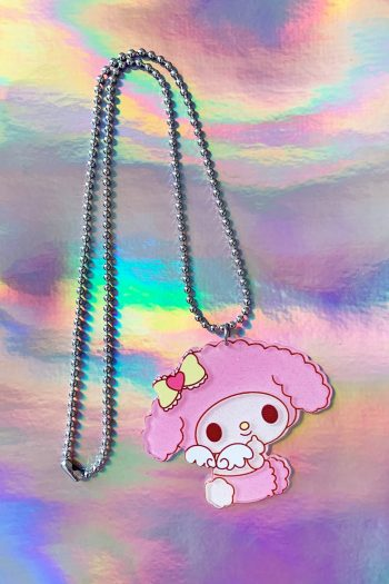 Jewelry My Melody Angel Ball Chain Necklace necklace