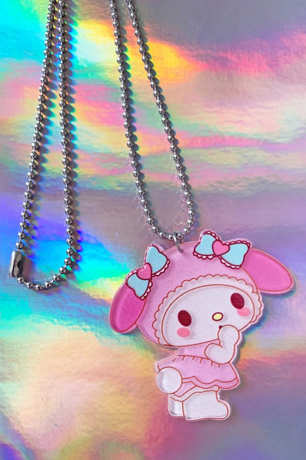 Jewelry Baby My Melody Ball Chain Necklace necklace