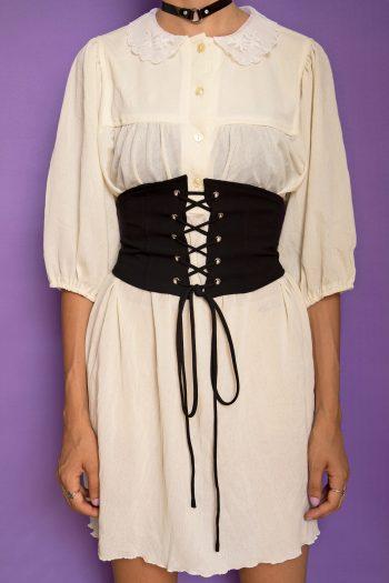 Dresses Vintage 80's Puff Sleeve Nightgown Dress – L 90s nightie