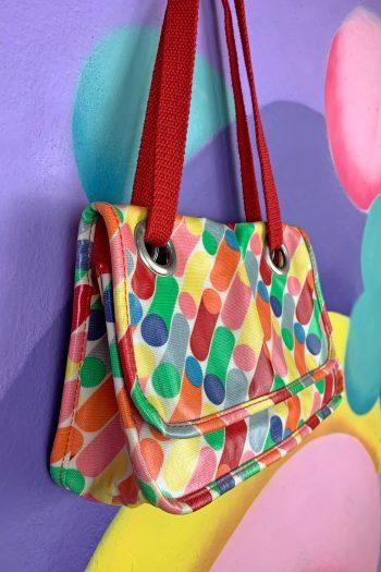 Bags Vintage 90's Geometric Abstract Bag 90s bag