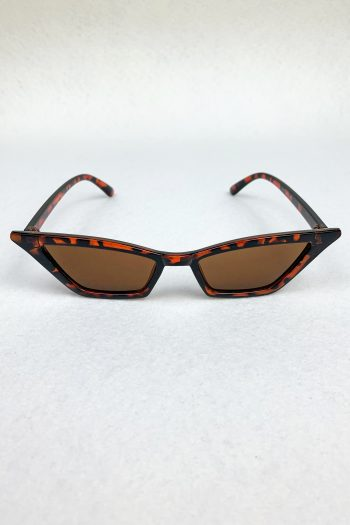 Cyber Brown Cat Eye Sunglasses Size L